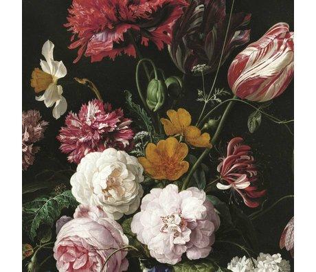 KEK Amsterdam Fond d'écran Golden Age II Fleurs multicolores bande de papier 194,8x280cm