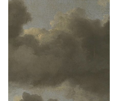 KEK Amsterdam Wallpaper Golden Age Clouds IV multicolor paper web 194,8x280cm