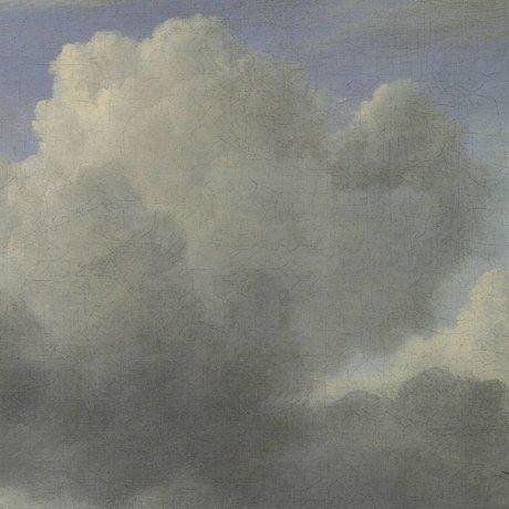 KEK Amsterdam Wallpaper Golden Age Wolken III mehrfarbige Papierbahn 194,8x280cm