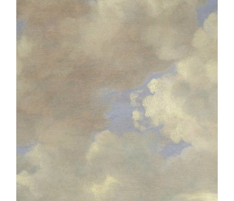 KEK Amsterdam Wallpaper Golden Age Clouds II multicolor paper web 194,8x280cm