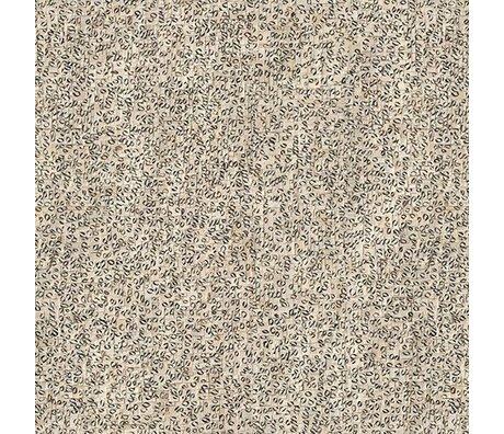 NLXL-Arthur Slenk Wallpaper 'Remixed 4' Papier 900x48.7cm creme / schwarz