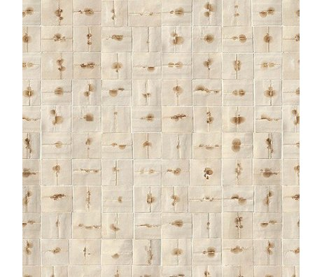 NLXL-Arthur Slenk «Remixed 6 'papier crème / marron 900x48.7cm Wallpaper