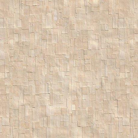 NLXL-Arthur Slenk Wallpaper 'Remixed 1' Papier 900x48.7cm creme-weiß