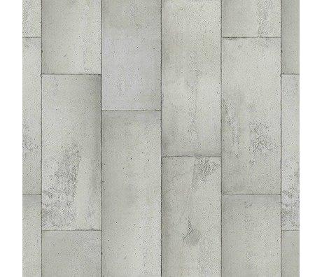 NLXL-Piet Boon Wallpaper Betonoptik concrete1, grau, 9 Meter