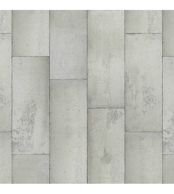NLXL-Piet Boon Behang betonlook concrete1, grijs, 9 meter ...