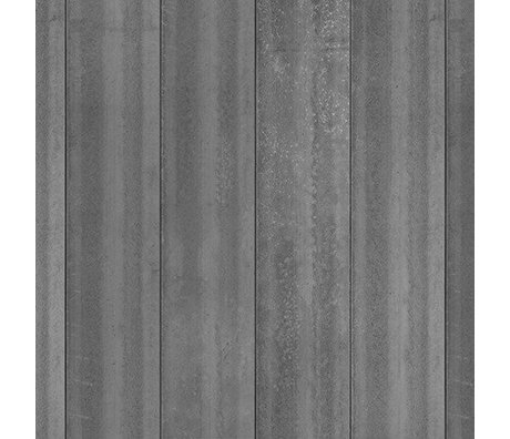 NLXL-Piet Boon Wallpaper concrete look concrete4, dark gray, 9 meters