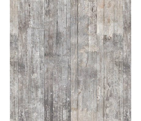 NLXL-Piet Boon Wallpaper concrete look concrete2, gray, 9 meters