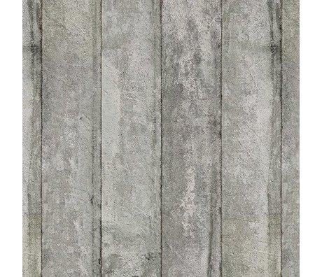 NLXL-Piet Boon Wallpaper Betonoptik Beton3, grau, 9 Meter