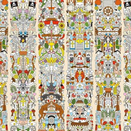 """NLXL-Studio Job Wallpaper """"Alt Deutsch 04"""" papier 900x48.7cm"""