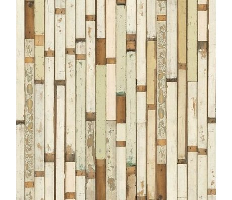 NLXL-Piet Hein Eek Demolition Wood Wallpaper 01