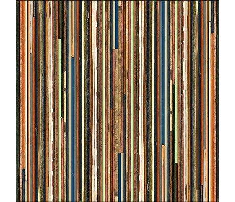 "NLXL-Piet Hein Eek Wallpaper ""Scrapwood 15 papier"" 900 x 48,7 cm multicolore"
