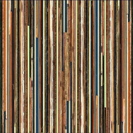 "NLXL-Piet Hein Eek Wallpaper 'Scrapwood 15 ""-Papier 900 x 48,7 cm multicolor"