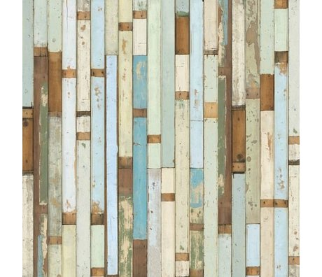 NLXL-Piet Hein Eek Demolition Holz Wallpaper 03