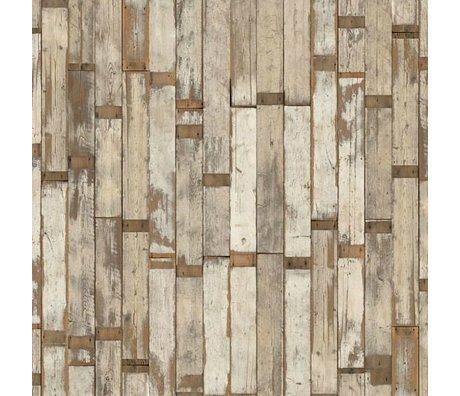 NLXL-Piet Hein Eek Demolition Wood Wallpaper 02