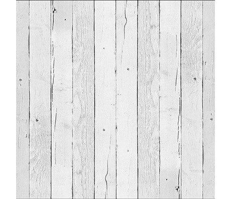 "NLXL-Piet Hein Eek Wallpaper ""Sloop Holz 11"" weißes Papier 900 x 48,7 cm"