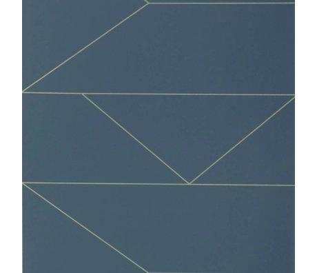 Ferm Living Lignes peint 10x0,53m bleu foncé