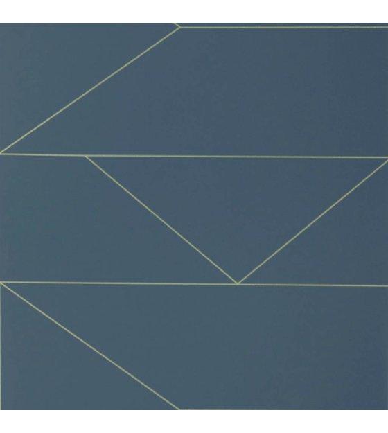 ferm living behang lines donker blauw 10x0 53m. Black Bedroom Furniture Sets. Home Design Ideas