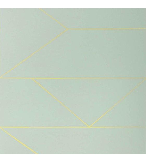 ferm living behang lines mint groen 10x0 53m. Black Bedroom Furniture Sets. Home Design Ideas