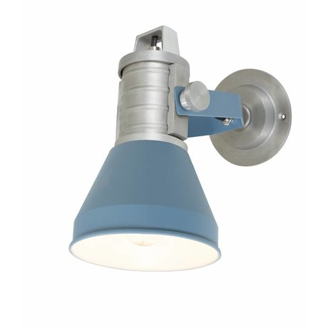 Anne Lighting Wandleuchte Brusk blau Metall ø16x35x27cm