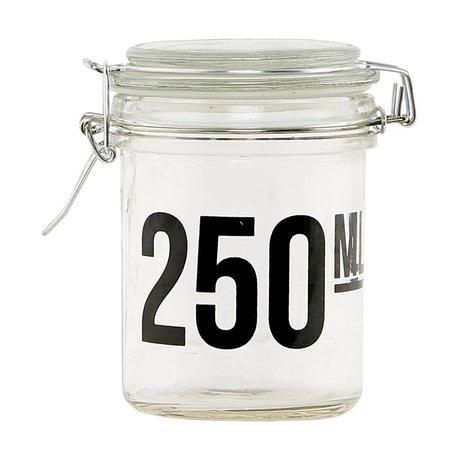 Housedoctor Transparente Glas ø7,5x10cm