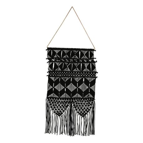 Housedoctor Tapestry Artesian black metallic cotton 32x60cm