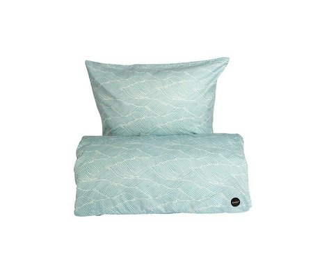 OYOY Duvet Poipoi baby blue Baumwolle 70x100cm