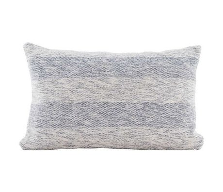 Housedoctor Cushion Cover Tones gray blue cotton 30x50cm