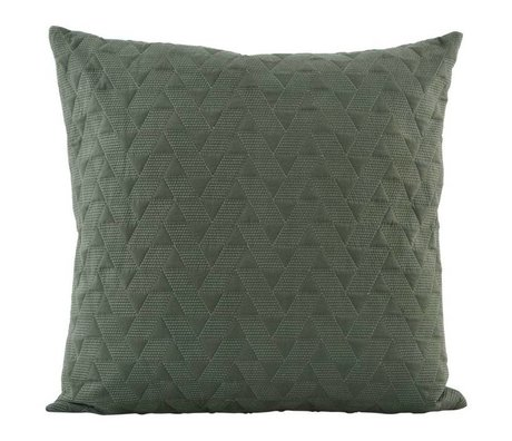 Housedoctor Cushion cover 60x60cm cotton green Mih