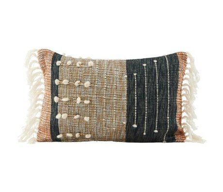 Housedoctor Cushion Cover Details Mehrfarben Baumwolle 30x50cm
