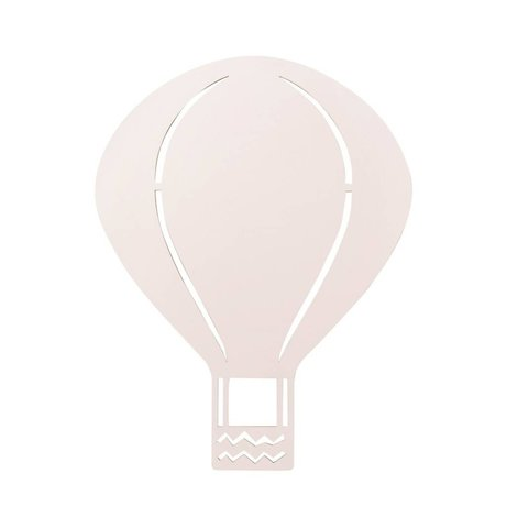 Ferm Living Wandlamp Luchtballon roze hout 26,5x34,55cm