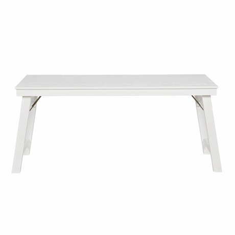 LEF collections Office Honk white pine metal 73x174x57cm