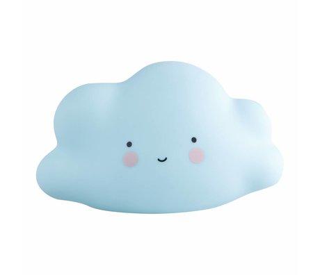 A Little Lovely Company Light cloud blue mini 16,5x9,5x8,5cm