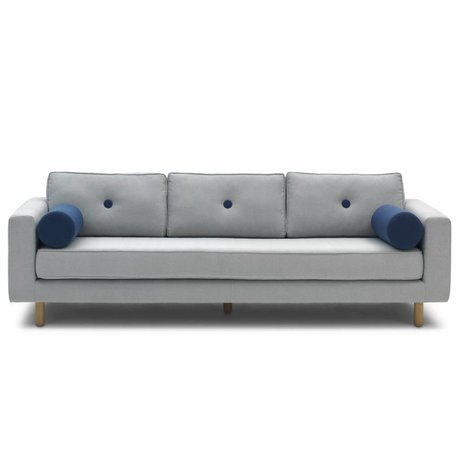 FEST Amsterdam Bank Avenue 2, 3 or 4 seater, light gray Sydney91