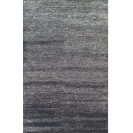 LEF collections Bamboo Rug gray textile 160x230cm