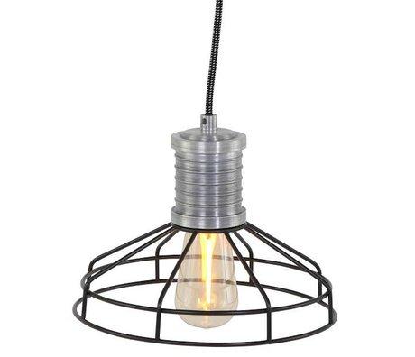 Anne Lighting Hängeleuchte Anne L Wire-O schwarz Metall ø23x16cm