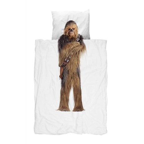 Snurk Beddengoed Chewbacca cotton duvet cover in three sizes