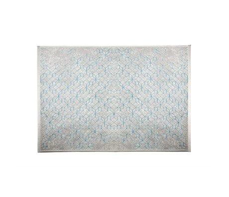 Zuiver Vloerkleed Yenga Breeze blauw 160x230cm