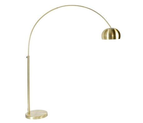 Zuiver Vloerlamp Metal bow brass, goud 190-205cm