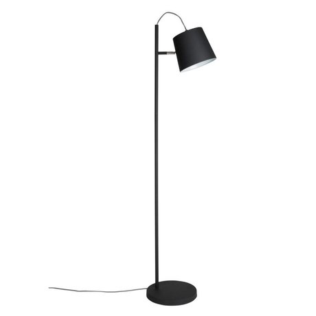 Zuiver Floor Lamp Buckle head black metal black 150cm