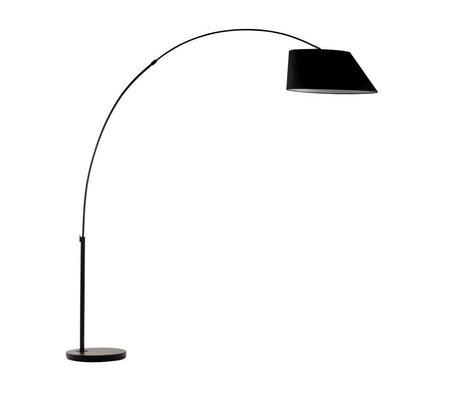 Zuiver Arc Stehlampe schwarz Metall schwarz 215cm