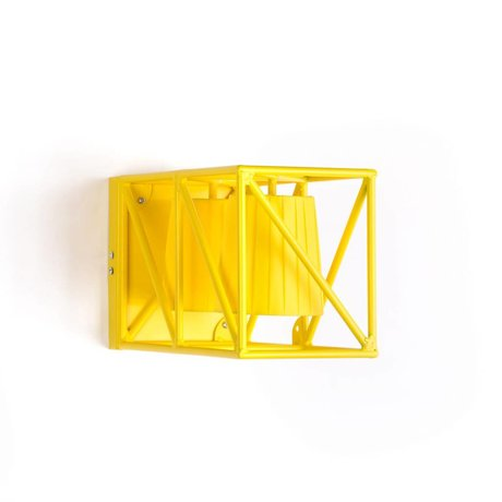 Seletti Wall lamp Multi wall lamp yellow yellow metal 38x22x17,5cm