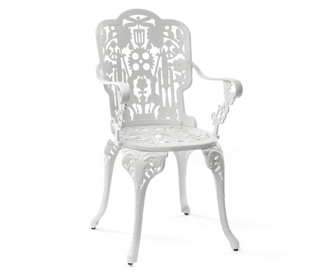 Seletti Industry Chair white aluminum 52x55x94cm