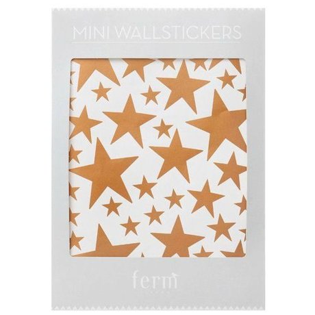 Ferm Living Wall Decals Mini Stars buyer vinyl 54 pieces of A4