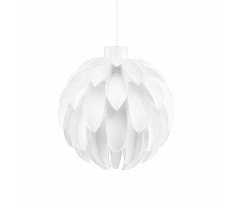 Normann Copenhagen Hang lamp Norm 12 white lamp foil L Ø51x53cm