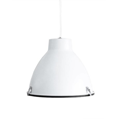 LEF collections Hanglamp Industry wit metaal 42x42x37cm