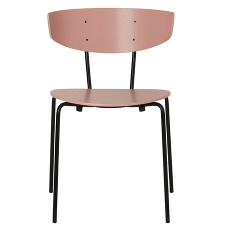 Ferm Living Dining chair Herman rosewood metal 50x74x47cm