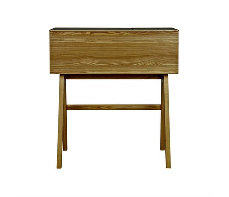BePureHome Office Open up braun Holz 96x107x44cm