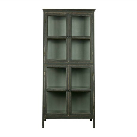 BePureHome Showcase Herritage black wood 173x79x45,5cm