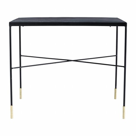 Housedoctor Table Ox gray iron 60x60x50cm