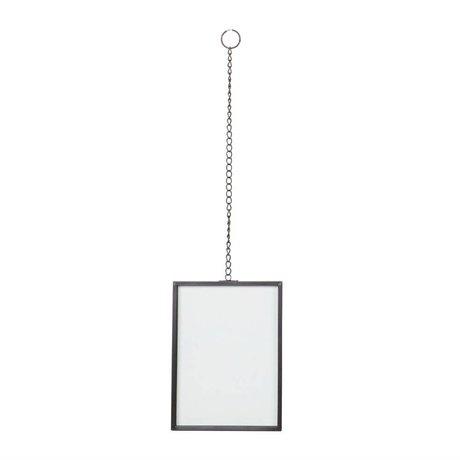 BePureHome cadre Xpose métal noir M 20x15x1cm